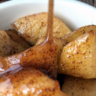 10 Minute Baked Apples.