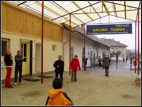 Photo: Intrarea veche in salina 2002 - sursa R.C.