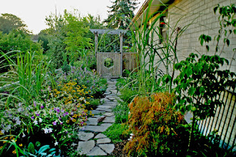 Photo: Our Fern Ridge landscape has pathways leading THROUGH the garden everywhere - a much more interactive experience than most gardens.