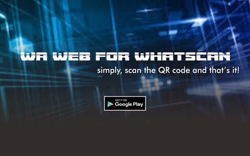 Download WA Whats Web For Scan QR Barcode Google Play