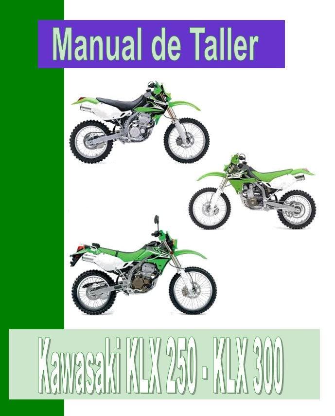 Kawasaki KLX 250 R-manual-taller-despiece-mecanica