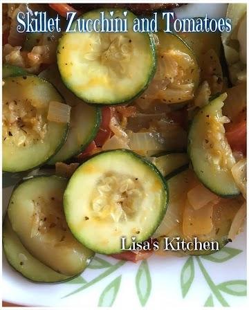 Skillet Zucchini And Tomatoes Recipe