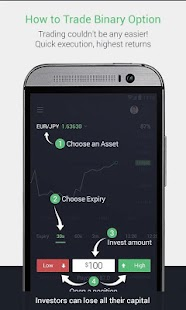 Options trading mobile app