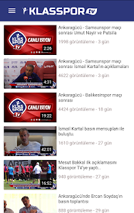Klasspor - Taraflı Spor Uygulaması - náhled