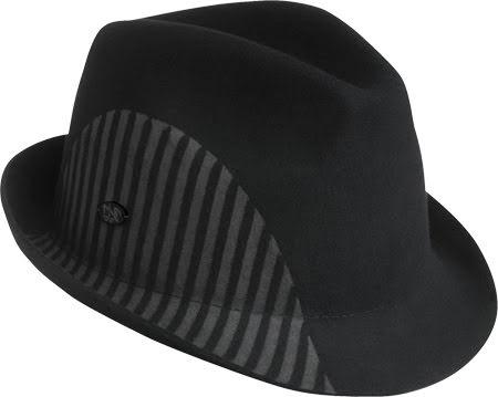 Fedora Parfrey, svart