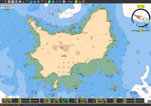qtVlm Navigation and Weather Routing 5.9 screenshots 11