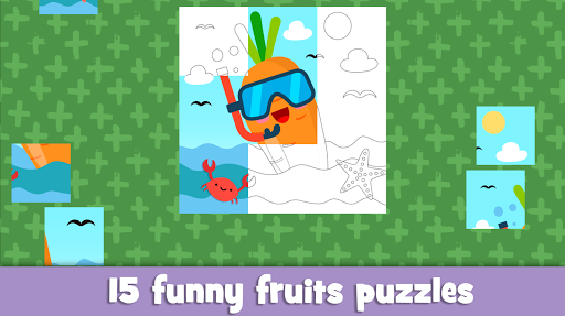 Learn fruits and vegetables - games for kids 1.5.1 screenshots 4