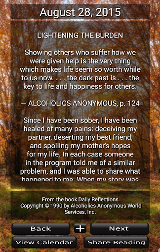 AA - Daily Reflections