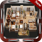400+ Plans  Home Design 3D icon