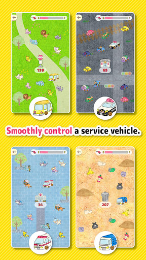 Car tag - Play tag with service vehicles! 1.1 screenshots 2
