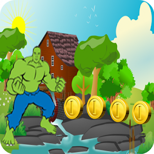 Adventure Hulks Jump Free screenshot 1
