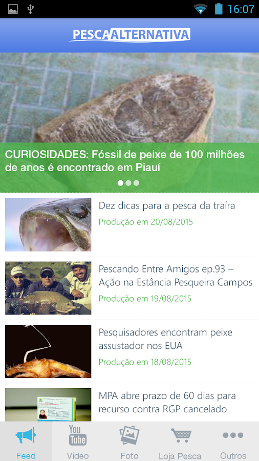 Pesca Alternativa- screenshot