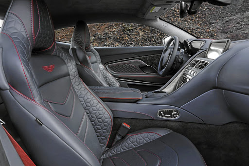 The interior gets intricately designed sports seats. Picture: NEWSPRESS UK