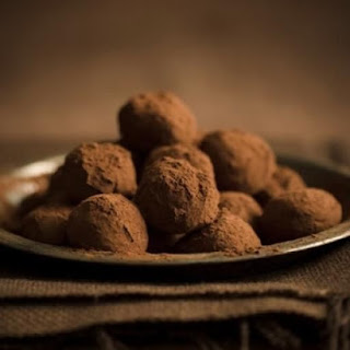 Chocolate Truffles… with a secret ingredient.