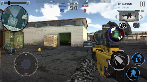 Multiplayer shooting arena A2S2K  trampa 9