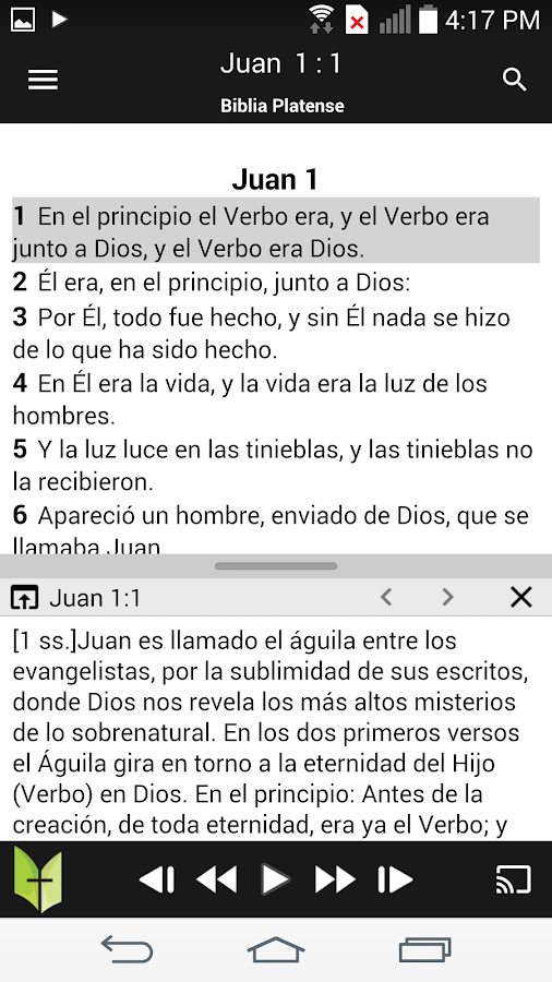 Biblia Católica- screenshot