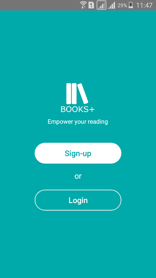 BooksPlus- screenshot