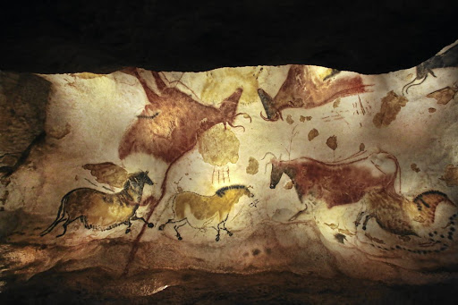 The Lascaux caves are known as the Sistine Chapel of the Palaeolithic era.