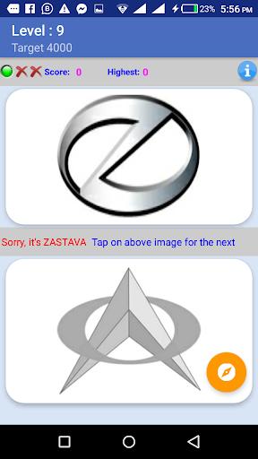 My Passion Car- Logo Quiz Game 2.7 screenshots 6