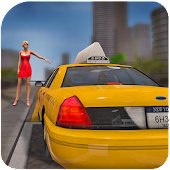 NY City Taxi Transport Driver: Cab Parking SIM