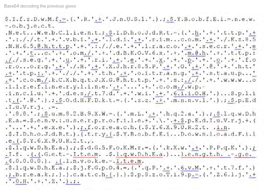 Base64 decoding the previous gives