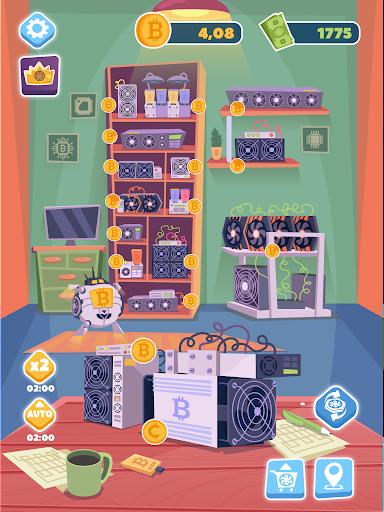 Bitcoin mining: life tycoon, idle miner simulator 1.0.3 screenshots 9