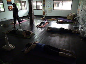 Photo: Yoga Asanas class with Jeenal Mehta (Morning practice)