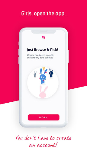 Pickable - Casual dating to chat and meet 1.3.8 screenshots 1