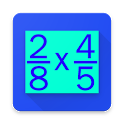 Fraction Multiplication Practice icon