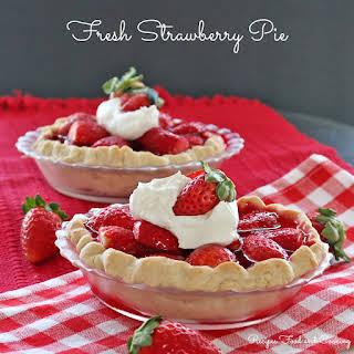 Fresh Strawberry Pie.