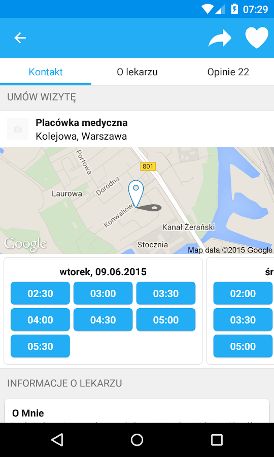 ZnanyLekarz- screenshot