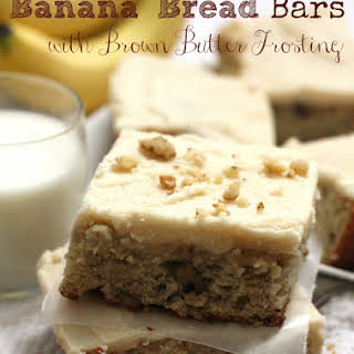 Banana Bread Bars.
