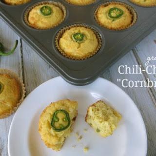 Green Chili Cheddar Cornbread Muffins Recipes
