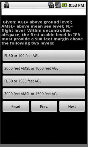 ATPL Question Bank for Pilot