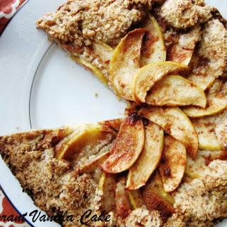 Dairy Free Cream Cheese Apple Galette Recipe