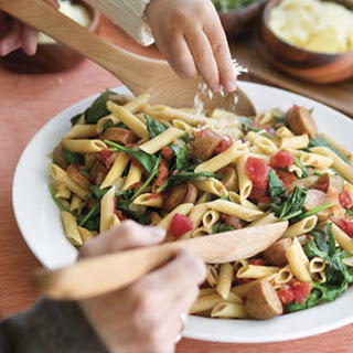 Tomato-Spinach Penne