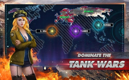 Hack Game Bắn Tăng Steel Army: 3D Tank War - Online Tank Battle
