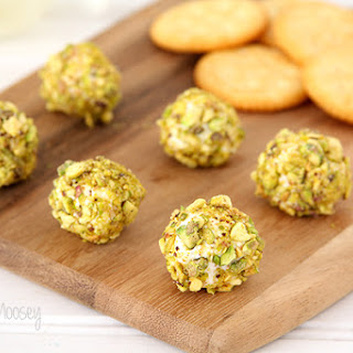 Goat Cheese, Bacon, and Pistachio Truffles