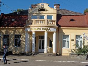 Photo: Chodorów - miejska rada. Fot. Stanisław Burlikowski.