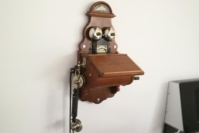 Ericsson currently has 42 500 patents, but one of its first was for this phone from 1885.