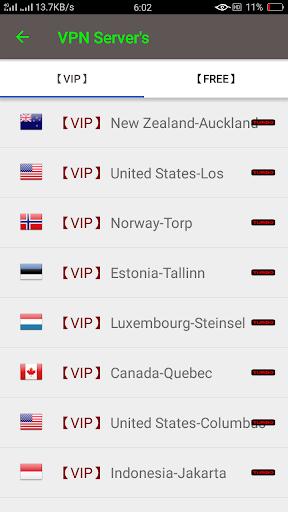 VIP Turbo VPN - Unlimited Free Vip Vpn screenshot 3