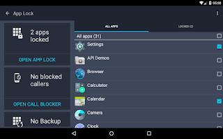 Screenshot of Tablet AntiVirus Security PRO