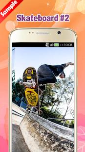 Skateboard Wallpaper - náhled