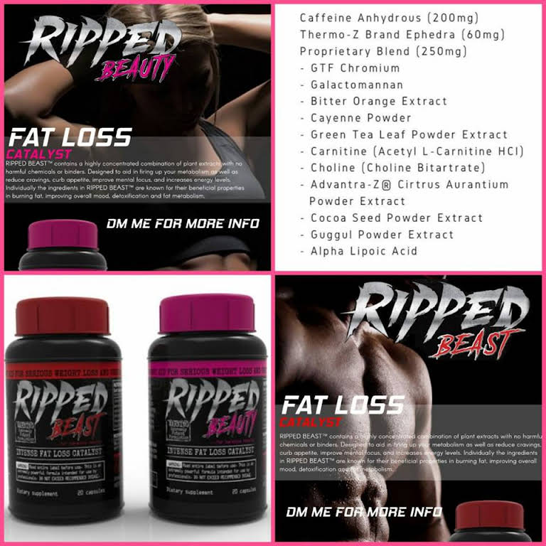 ripped beast fat burner review)