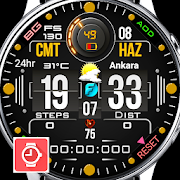 FS 130 Digital Watch Face For WatchMaker Users