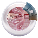 Flying hats GO Keyboard icon