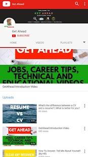 Jobs and Career Tips - Get Ahead - náhled