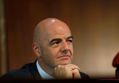 Gianni Infantino, le président de la FIFA veut l'arbitrage vidéo pour 2018