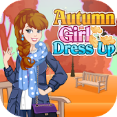 Autumn fashion dress up