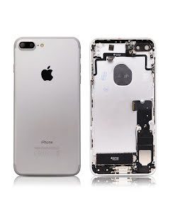 iPhone 7 Plus Housing with small parts Original Pulled Silver